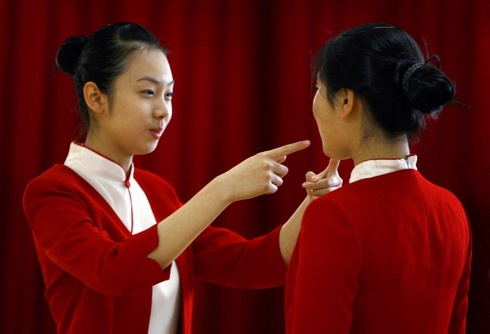 Cina sorrisi olimpici foto