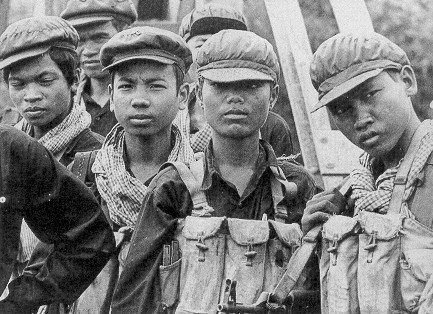 Khmer Rouge fighters