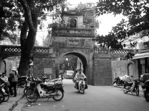 hanoi vietnam stradine città vecchia