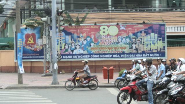 Saigon, Vietnam. Foto Alessio Fratticcioli