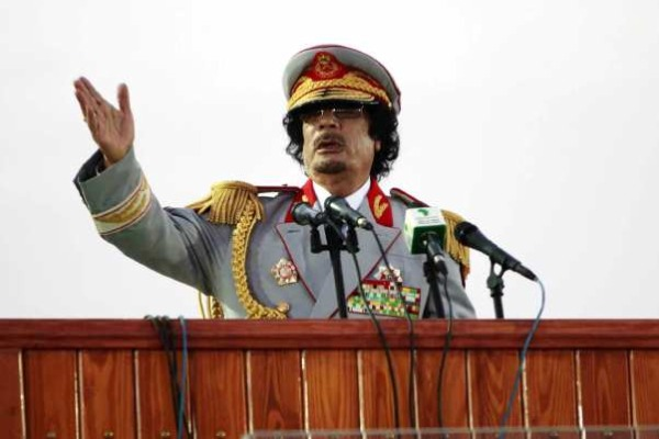 gheddafi libia discorso