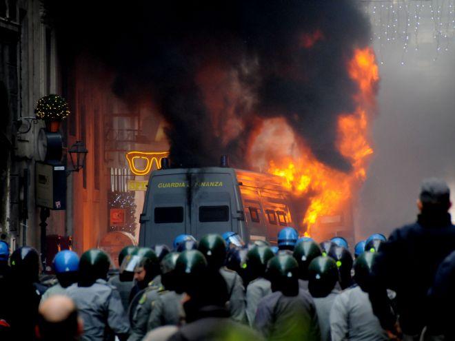 scontri piazza roma Come far fallire una Rivoluzione