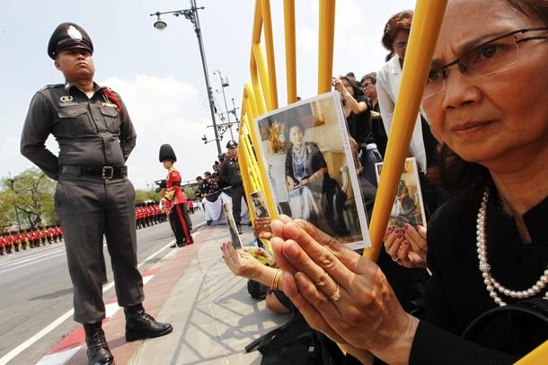 thailandia funerale Il Funerale della Principessa Bejaratana Rajasuda   Thailandia