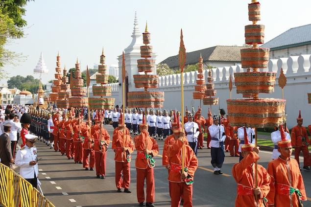 thailandia processione funerale Il Funerale della Principessa Bejaratana Rajasuda   Thailandia