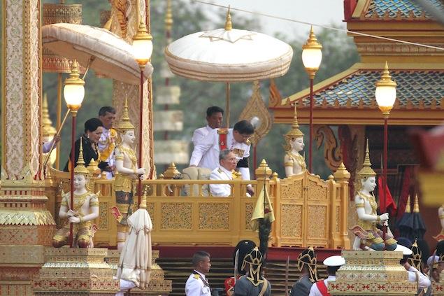 thailandia re al funerale Il Funerale della Principessa Bejaratana Rajasuda   Thailandia