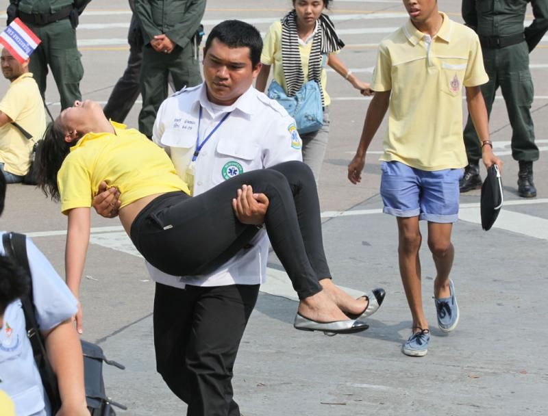 donna thailandese malore