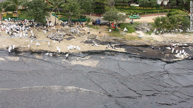 thai koh samet isola Thailandia, disastro in paradiso: perdita di greggio raggiunge Koh Samet