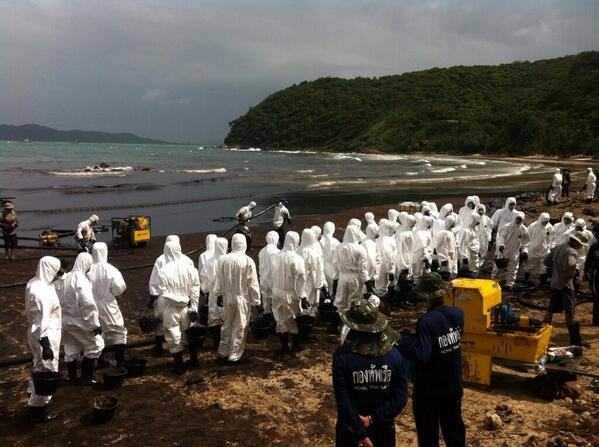 thai koh samet spiaggia Thailandia, disastro in paradiso: perdita di greggio raggiunge Koh Samet