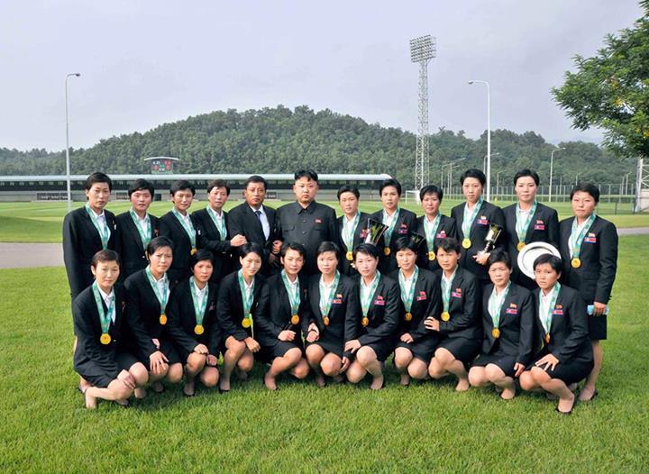 donne corea Kim Jong-un