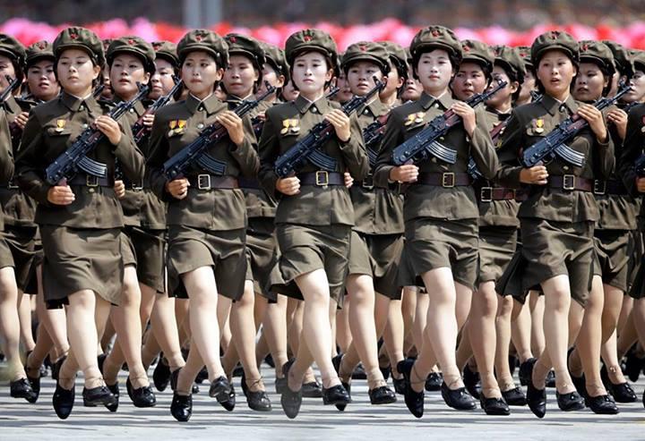 donne coreane a pyongyang