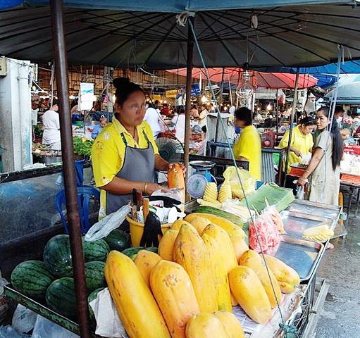 papaya thailandia asia