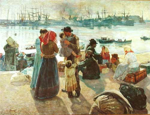 immigrato italiani storia