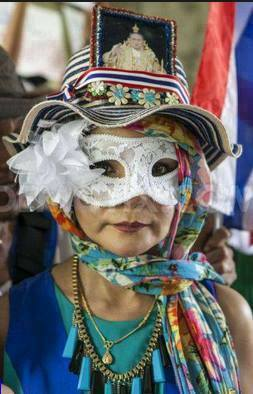 donna thai monarchica