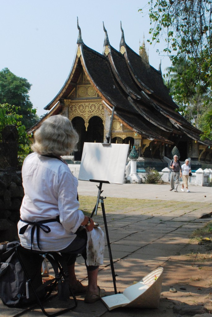 dipingere 685x1024 Unaltra cartolina da Luang Prabang