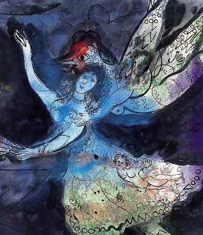 Marc Chagall Danseuse 1945 Il Giorno della musica
