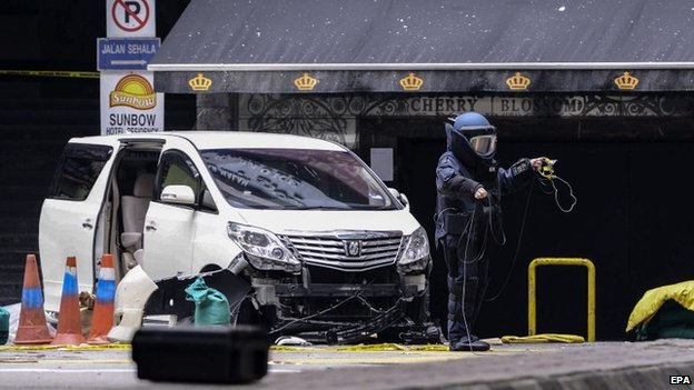 butik Malesia, granata contro un pub, sospetti sugli estremisti islamici