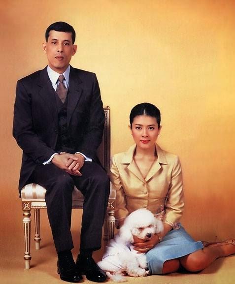 thai prince and wife 3 Thailandia: principe divorzia, parenti dellex moglie arrestati