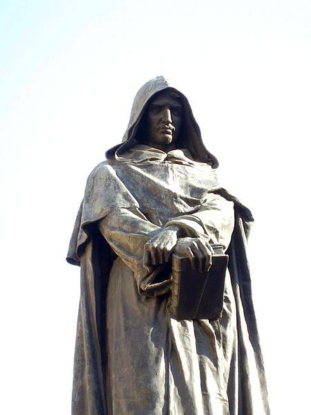 GiordanoBrunoStatueCampoDeFiori Giordano Bruno