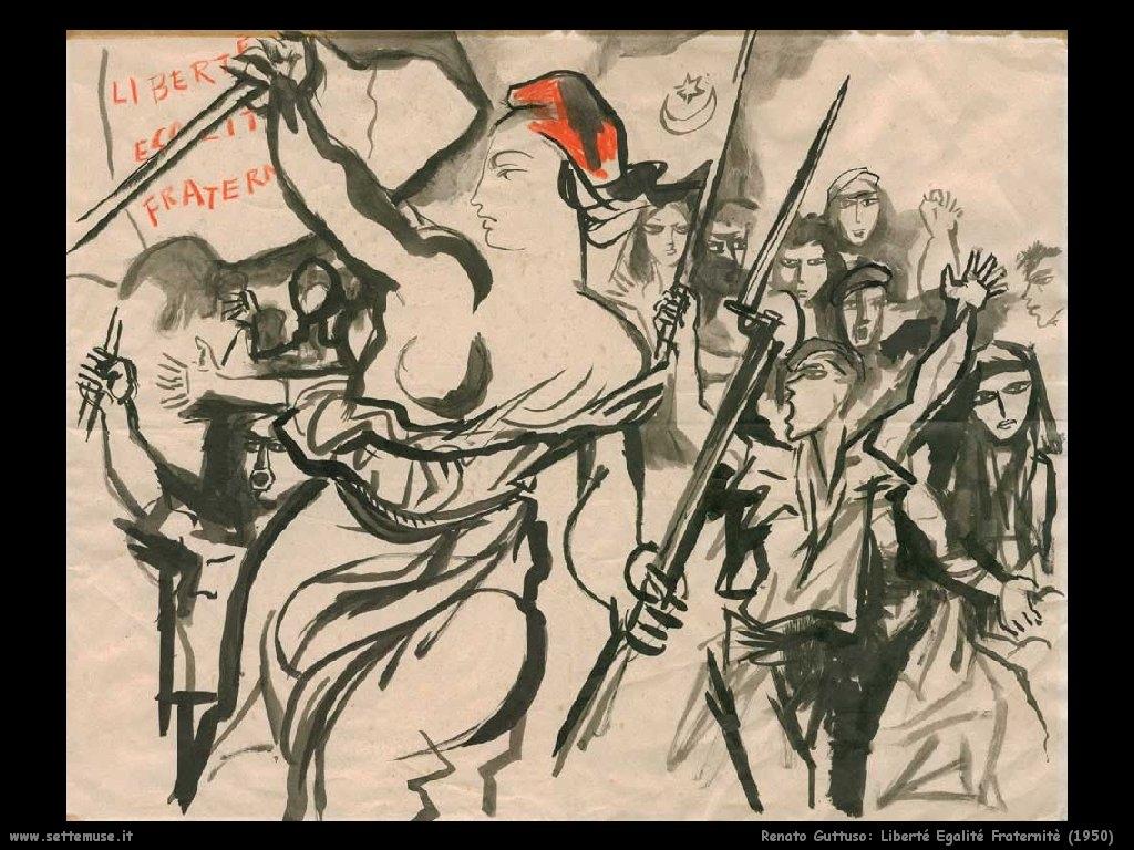 Libertà Eguaglianza Fratellanza Gattuso quadro