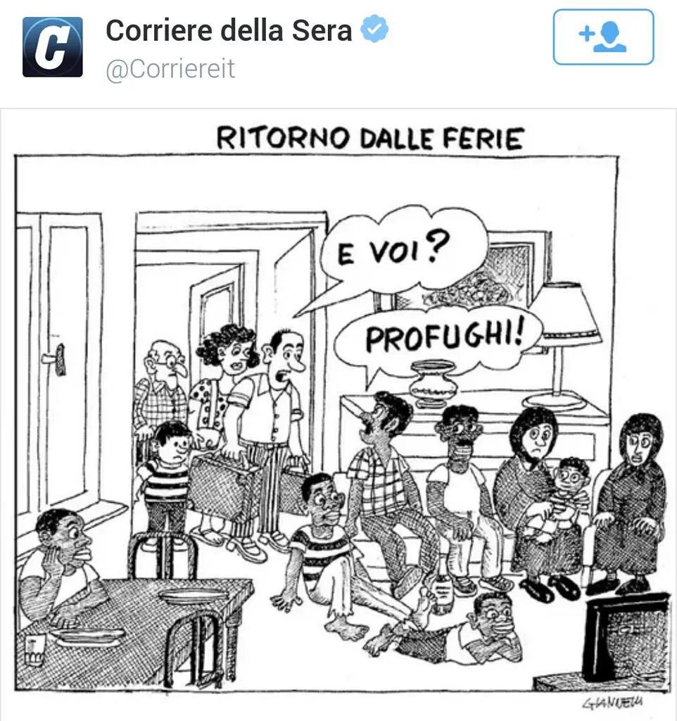 Corriere Gianello profughi