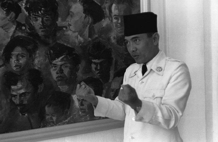 70 Anni fa Sukarno diventava il primo Presidente dell'Indonesia.