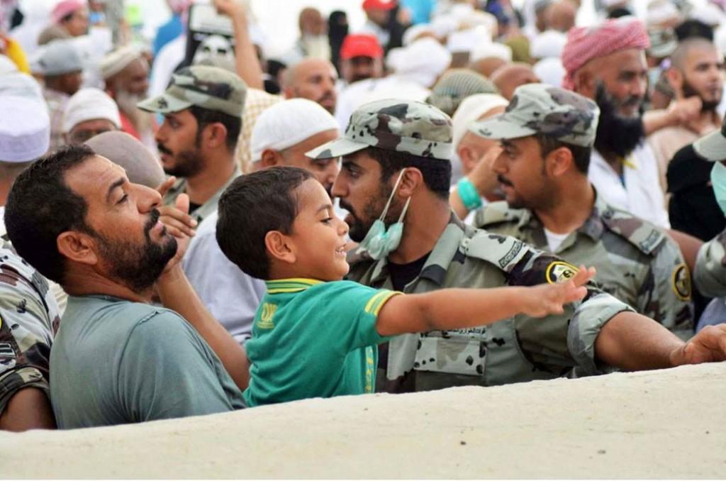 "Jamarat"" Mecca Hajj kid"