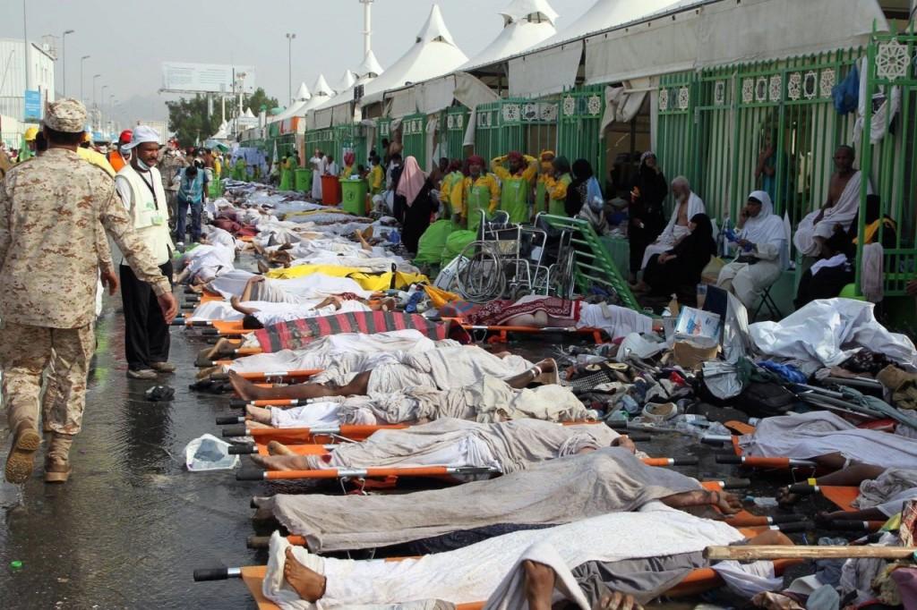 pellegrini morti Mecca