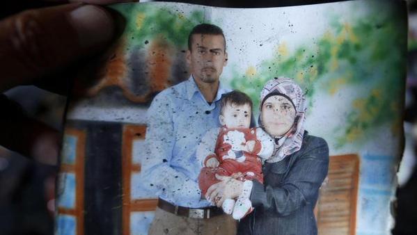 La famiglia palestinese uccisa