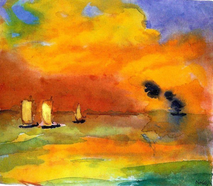 Helles Meer (1946) - Emil Nolde