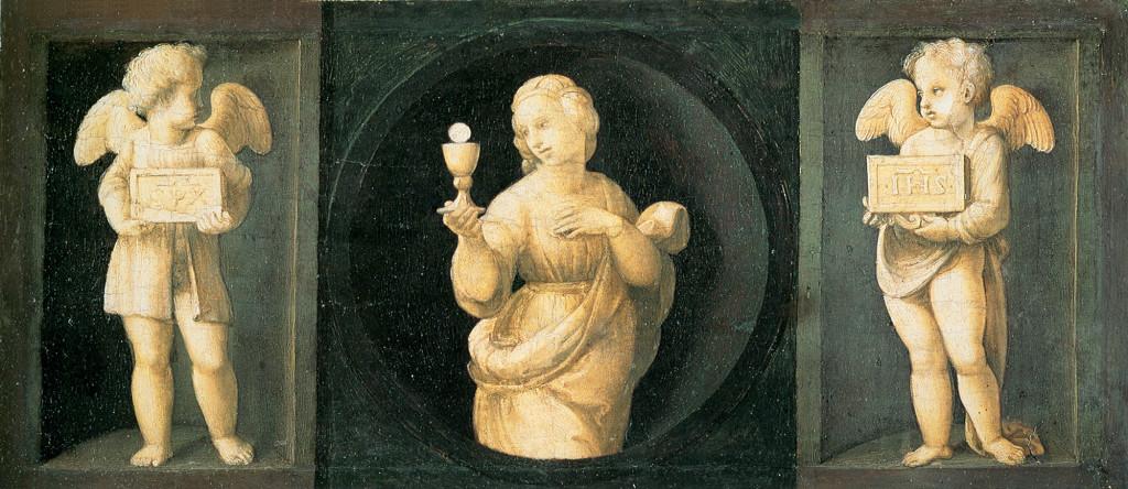 Fede, Pala Baglioni, Raffaello (1507)