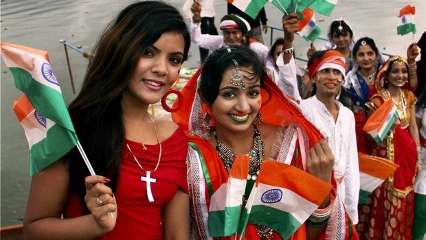 Studentesse indiane. Foto PTI