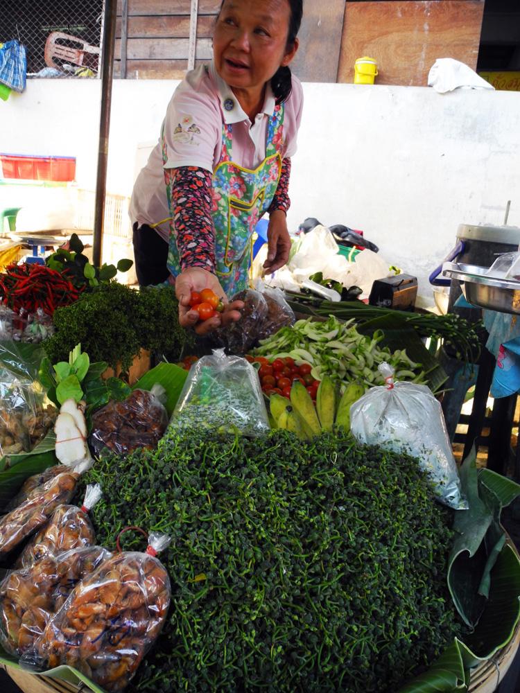 Al mercato, Pak sarèè