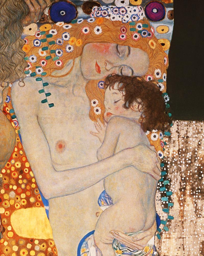 Le tre età della donna (particolare) - Gustav Klimt (1905)