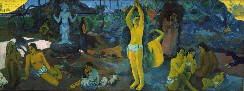 Da dove veniamo? Che siamo? Dove andiamo? - Paul Gauguin - 1897