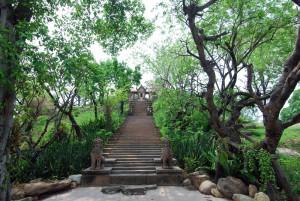 La scalinata Preah Vihear