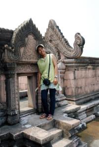Munag Boran - Copia in scala ridotta di Peah Vihear