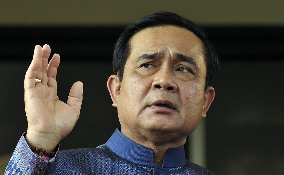 Thailand's Prime Minister Prayuth Chan-ocha. Pic: AP.