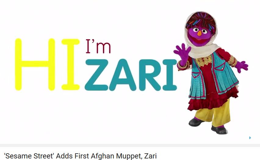 Zari muppet afghana