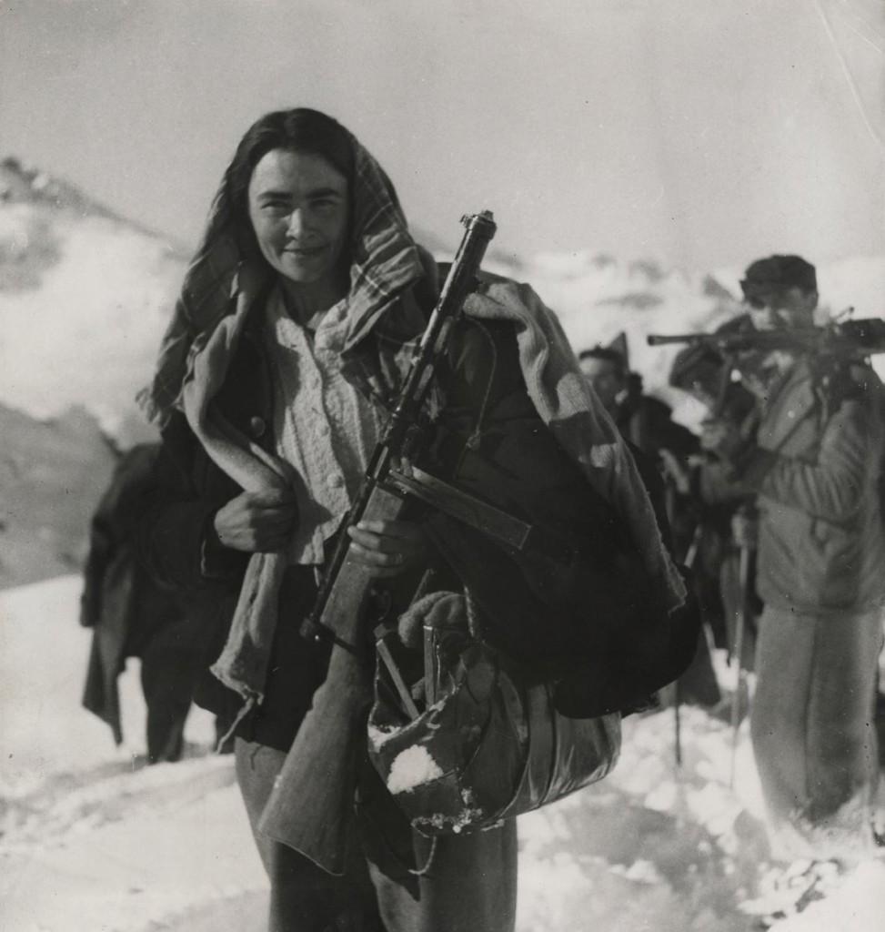 Prosperina Vallet (1911-1998), nata ad Aymavilles, Valle d'Aosta, partigiana nella formazione autonoma Vertosan