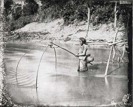 1893 - Pescatore in Provincia di Chai Nat