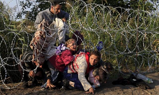 profughi ungheria confine filo spinato