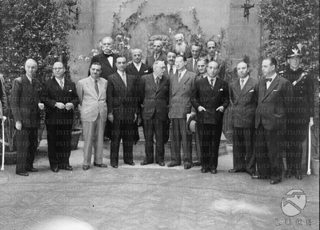 Governo De Gasperi II luglio 1946