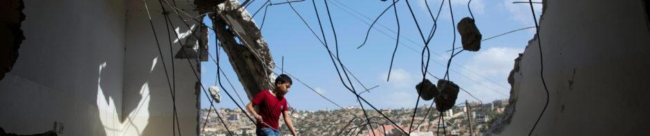 Israele Palestina Cisgiordania abitazioni demolite