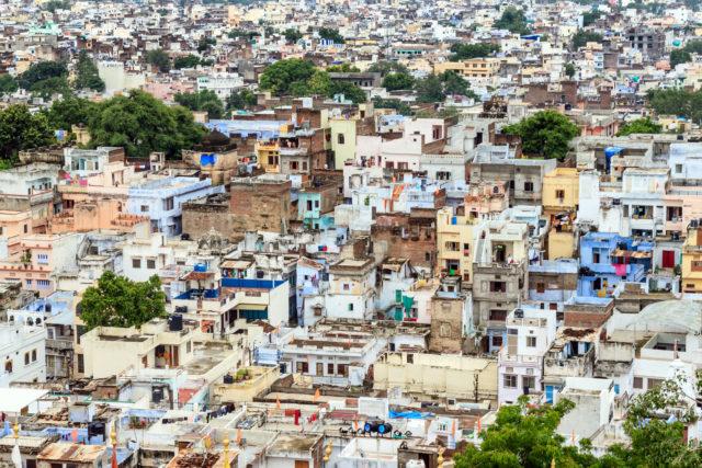 Jodhpur, città blu, Rajasthan, India