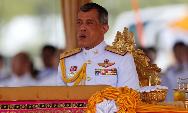 vajiralongkorn re thailandia
