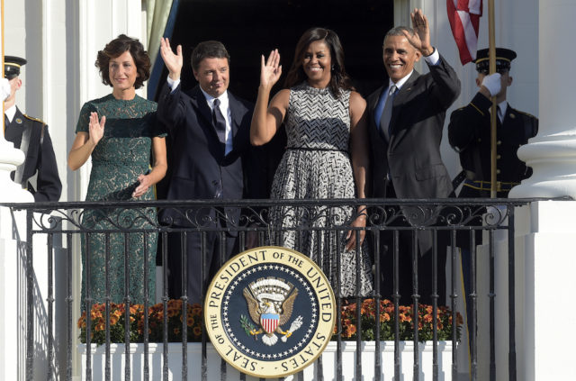 Renzi Obama Casa Bianca Washington