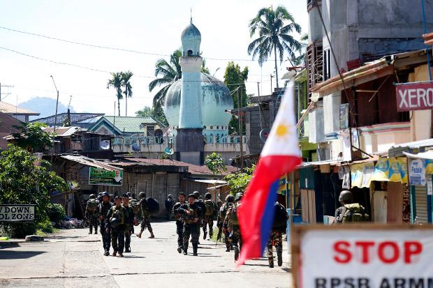 marawi filippine soldati