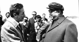 Enrico Berlinguer e Kim Il-sung a Pyongyang 1980