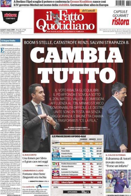 elezioni_prima_Fatto_Quotidiano